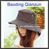 best seller custom twill cotton black bucket hat