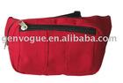Fashion Red 600D polyester waist bag LP7203