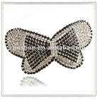 Shiny Rhinestone Handmade Hair Bow