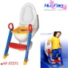 Baby Toilet Seat Chair ,Potty Training Ladder Step Toilet Seat( 2012 Newest Toliet Seat Chairs,HF-ST271)