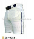 2012 hot blank slim fit white sports baseball pants with belt