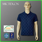men's printed check polo shirt 2013 high quality short sleeve plain dry wholesale clothing