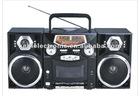 FM/AM/SW receiver radio cassette recorder