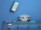 FFC CONNECTOR 1.0MM 4P 4-PIN DOWN CONNECTOR SOCKET