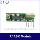 Superheterodyne 433.92mhz tx-rx rf Module Small