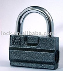 """A""Type plastic plated iron padlock"