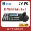 3D joystick CCTV keyboard