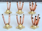 brass header for central air conditioning fan coil