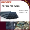PE Pipes for Water