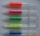 sell syringe shape highlighter marker pen