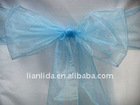 chair cover organza sash for wedding