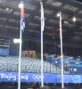 The flag pole for the Paralympic Games