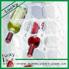 clear and elegant Acrylic wine rack table