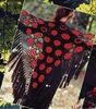 fashion lady hand Acrylic crochet shawl