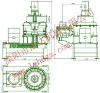pulverizer /SWFL102 series vertical-shaft micro pulverizer/feed equipment/feed machinery
