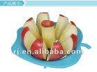 2012new design fashion plastic apple cutter fruit Slicer
