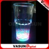LED flashing glass cup for bar