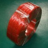 Transparent Red RoHS Electrical Speaker Wire