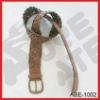 fashion pu braided belts