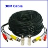 30M Security Camera BNC to RCA Video Power Audio CCTV Cable CCTV DVR