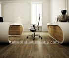 oval acrylic Office desk(TW-PATB-133)