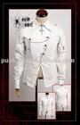 Punk Rave Men's White Shirt Y-307
