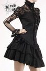 PUNK RAVE gothic lace ladies' blouse Y-230