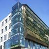 Triple building glazed