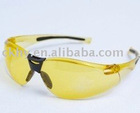 Fashion style, comfortable to wear, flank protection; colorsSafety goggle