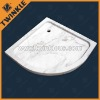 Natural White Marble Shower Tray