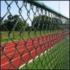 ISO pvc chain link fence factory