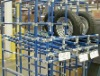 Pipe and joint for pallet racks shelving logistics equipment