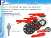 UPVC DN150 Butterfly Valves