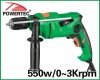 550w 13mm Impact drill