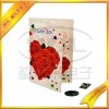 Voice Recordable module for Greeting Cards, Music chip Wedding Invitation Cards, with Inserted Photos