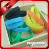 Charity silicone wristband