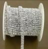 Fashion rhinestone chain for wedding cake decoration