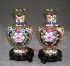 "Free shipping New chinese cloisonne Vase decorative 8"""