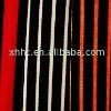 Stripe Printed Flocking Fabric upholstery curtain sofa cloth
