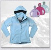 ladies 100% polyester microfiber wind jacket