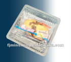 10.5*10.5 plastic cookie packaging tray
