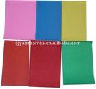 color sand paper