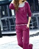 wx12-0919 100 cotton Ladies fashion sport suit