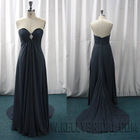 Fall 2010 Hot-Selling Elegant Straples Chiffon Bridesmaid Dress