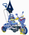 steel frame plastic board for children baby tricycle/children bike/kids tricycle/children toysSY-BB-7A