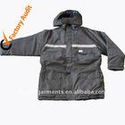 Reflective Tape Workwear Jacket