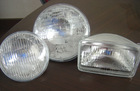 "4000/4003 5"" Round Sealed Beam light lamp 12V 100/75W"