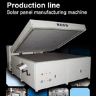 Solar PV panel laminator ( Semi automatic , Save electricity )