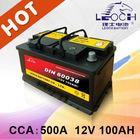 12V 100AH Flooded Auto Battery DIN series