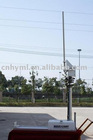 2m Roof Antenna Pneumatic Folding Telescopic Mast For CCTV and Communication